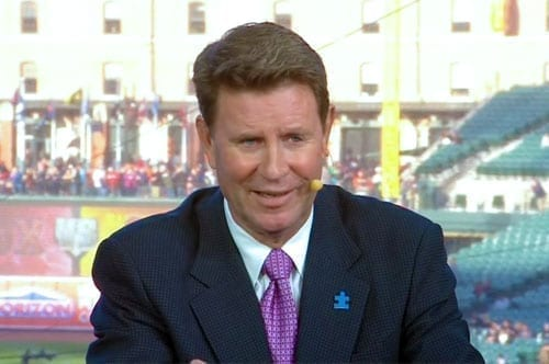 Appreciation For Jim Palmer In The Booth