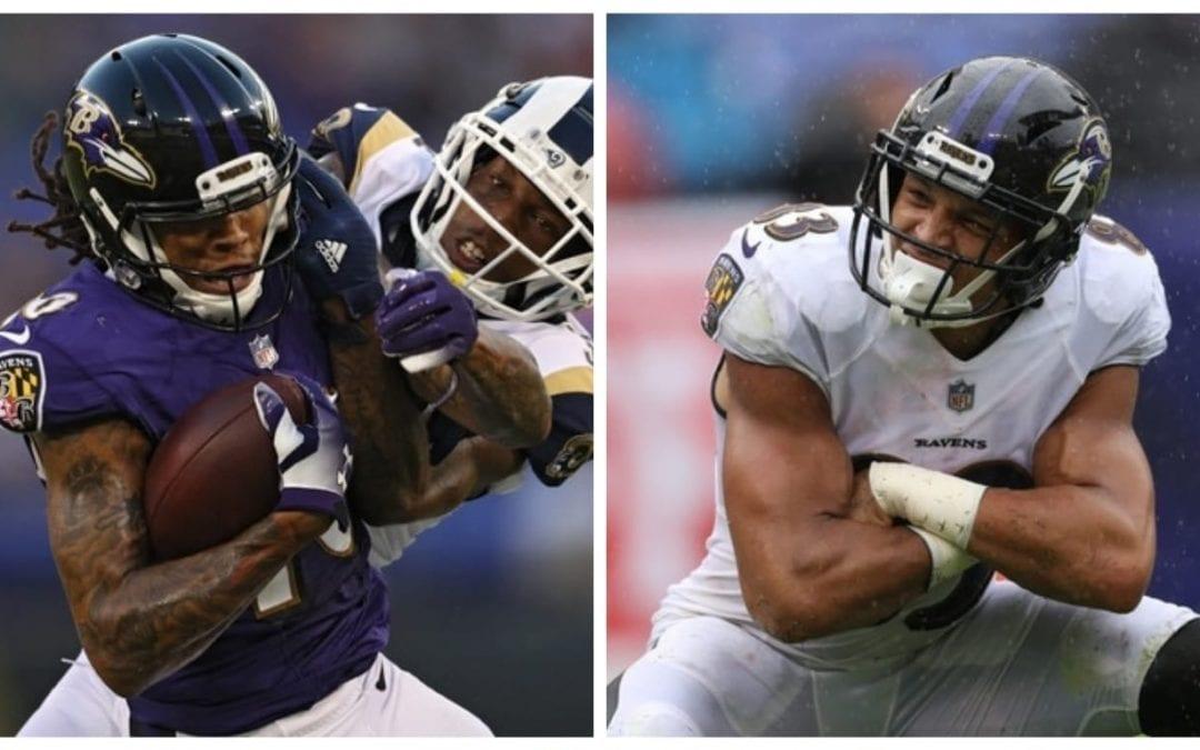 Ravens Training Camp Battles: Wide Receiver