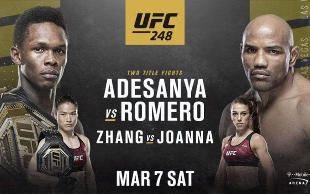UFC 248 Preview