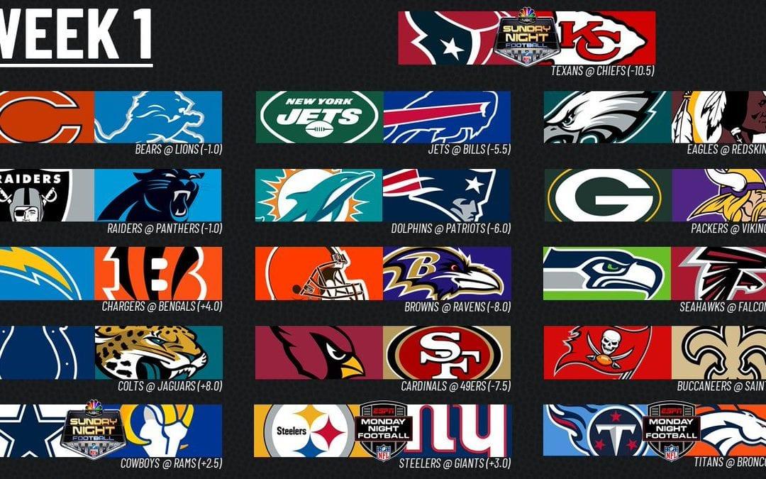 2020 NFL: Week 1