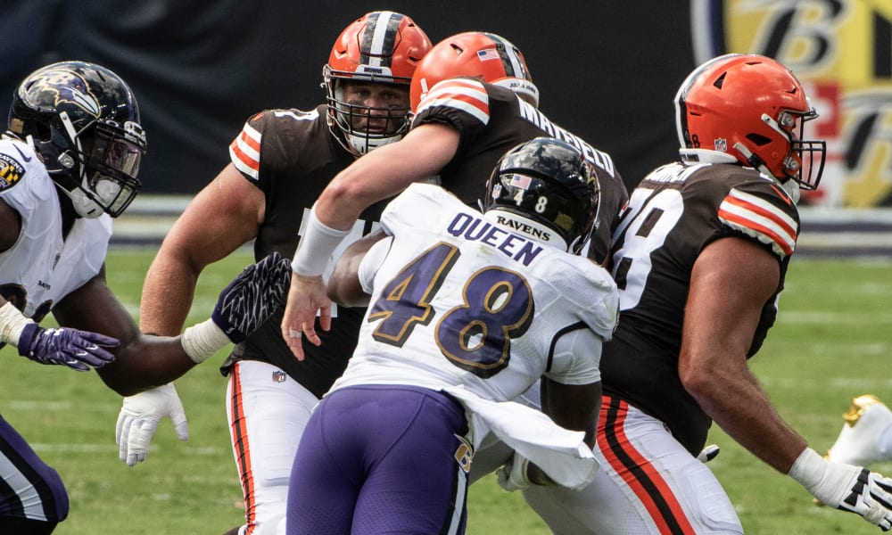 Analyzing The Ravens Week 1 Defense Against Cleveland
