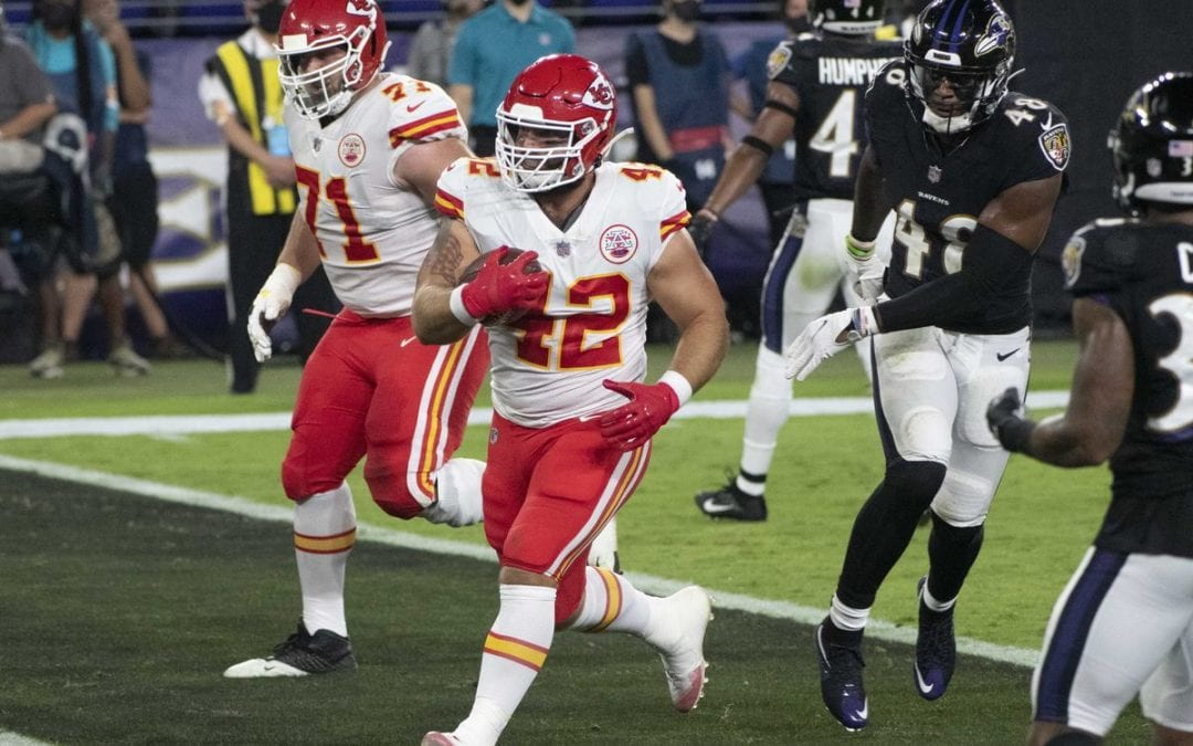 Patrick Mahomes destroyed the Ravens defense as an identity on Monday night