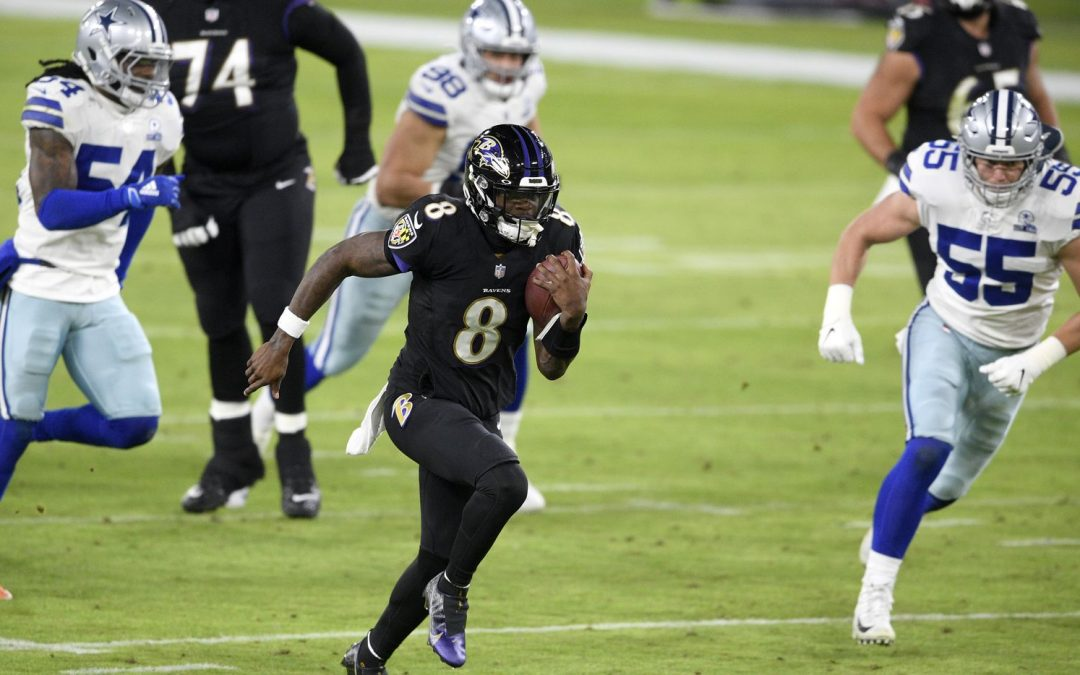 Ravens Fast Five: Cowboys Swiss Cheese Defense, no Match For Ravens Ground Attack