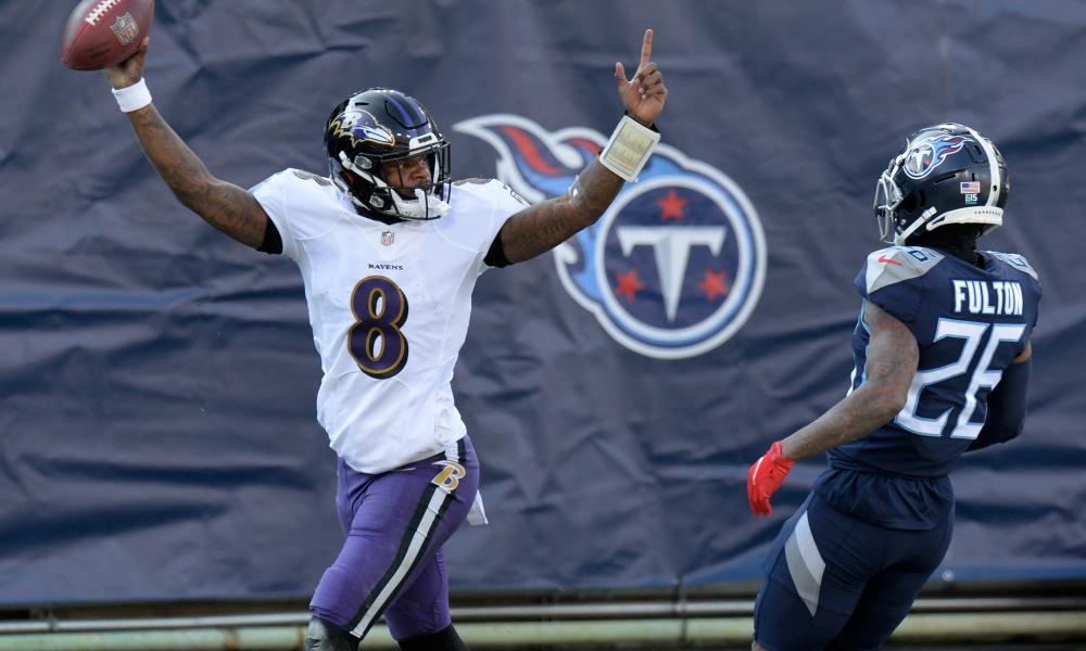 Ravens beat Titans. On to Buffalo