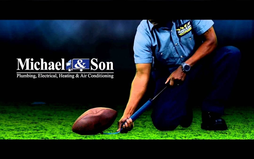 The G.O.A.T. 5-second Super Bowl TV ad – Michael & Son