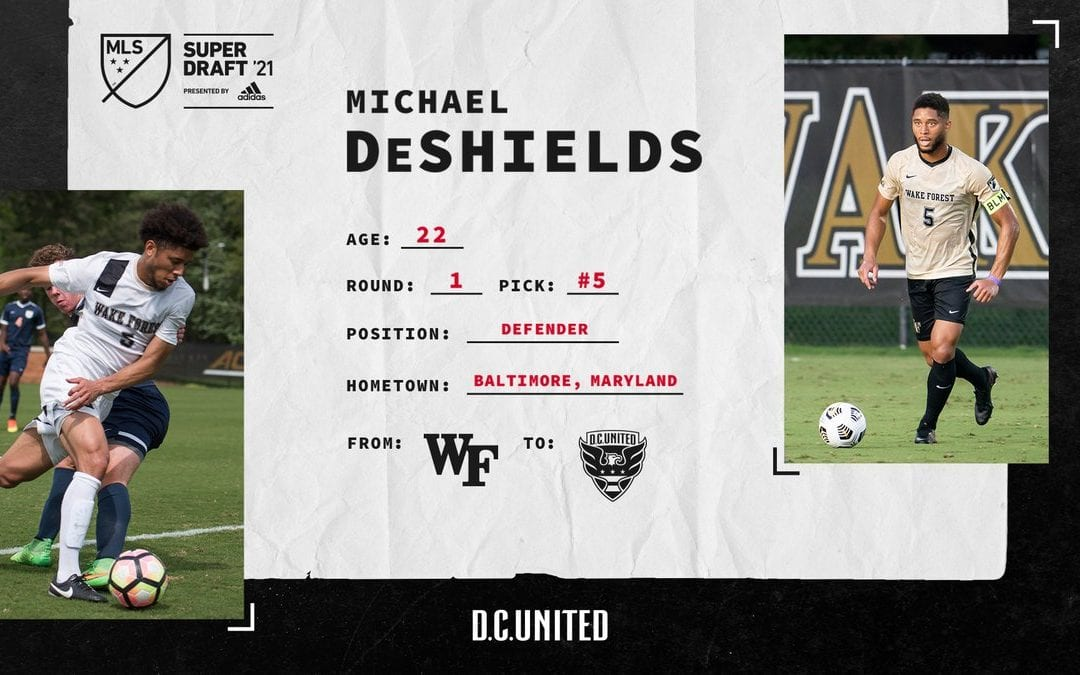 D.C. United rookie, former McDonogh star Michael DeShields dishes on early days in the pros