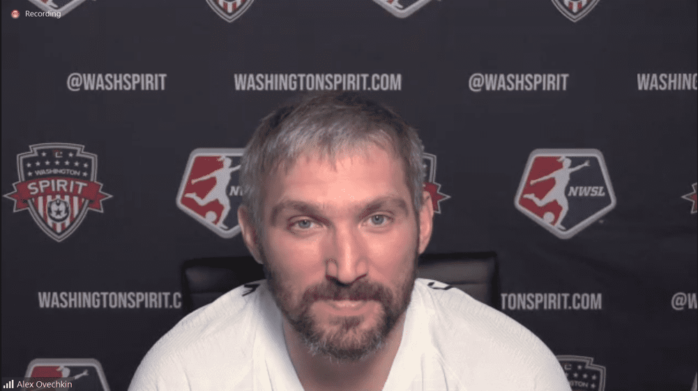 Ovechkin joins Washington Spirit as Investor and Mentor