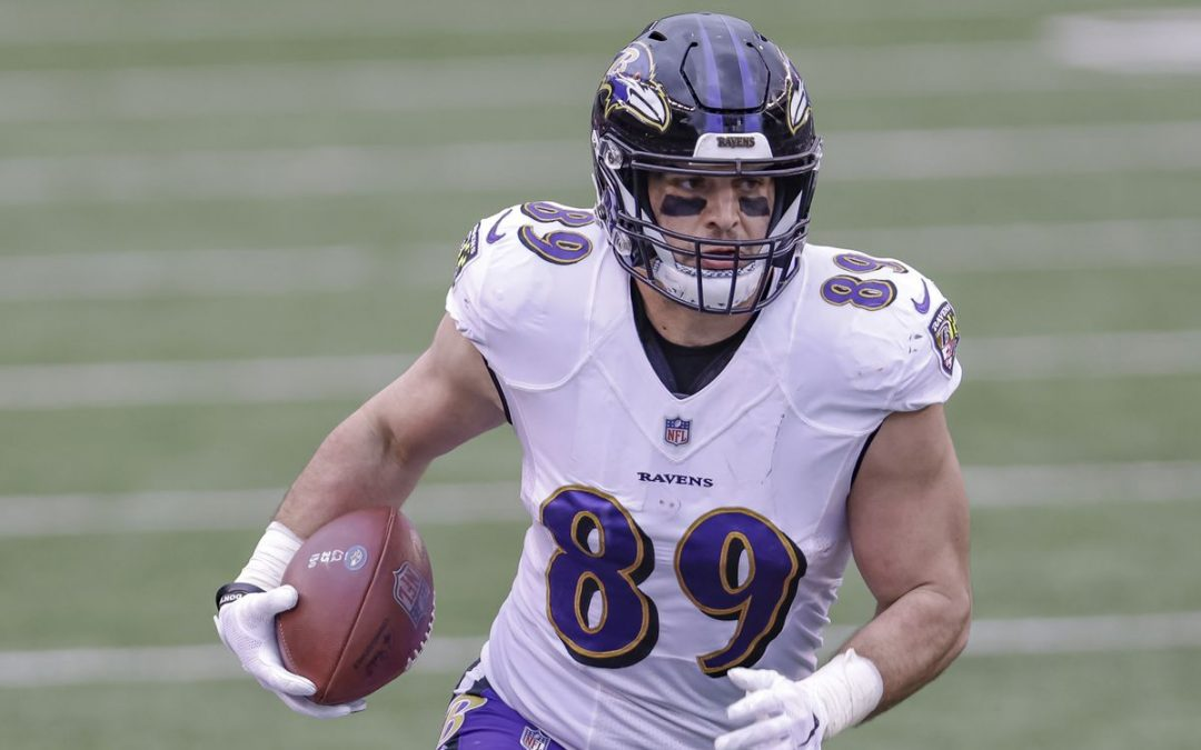 The Ravens decided Mark Andrews was a core player