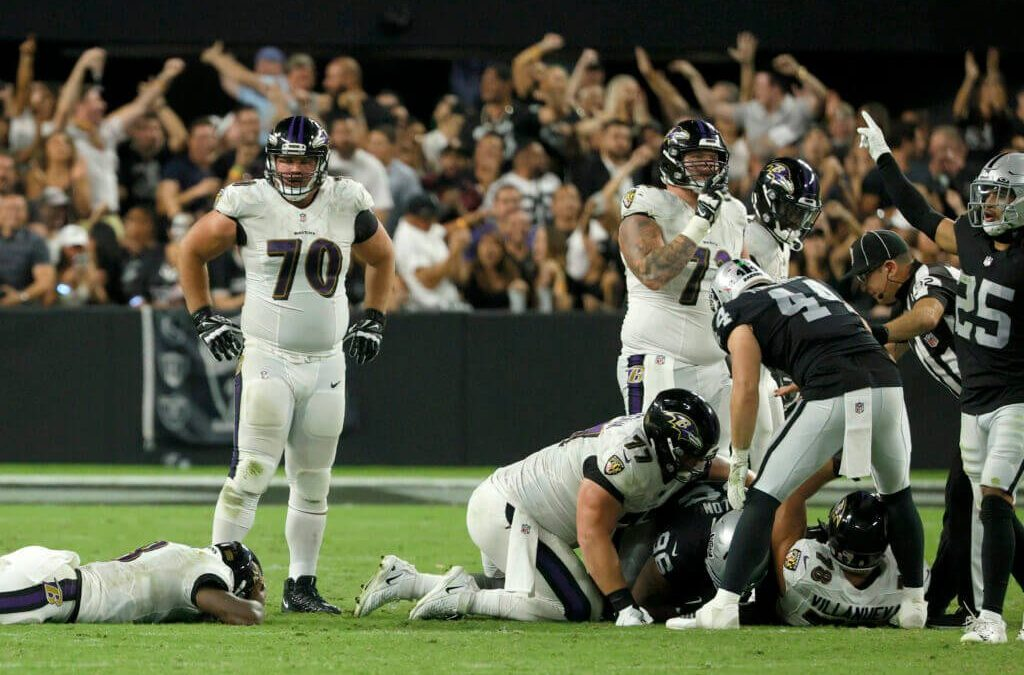 Week 1, Ravens Fast Five: Loss Leaves us With More Questions Than Answers