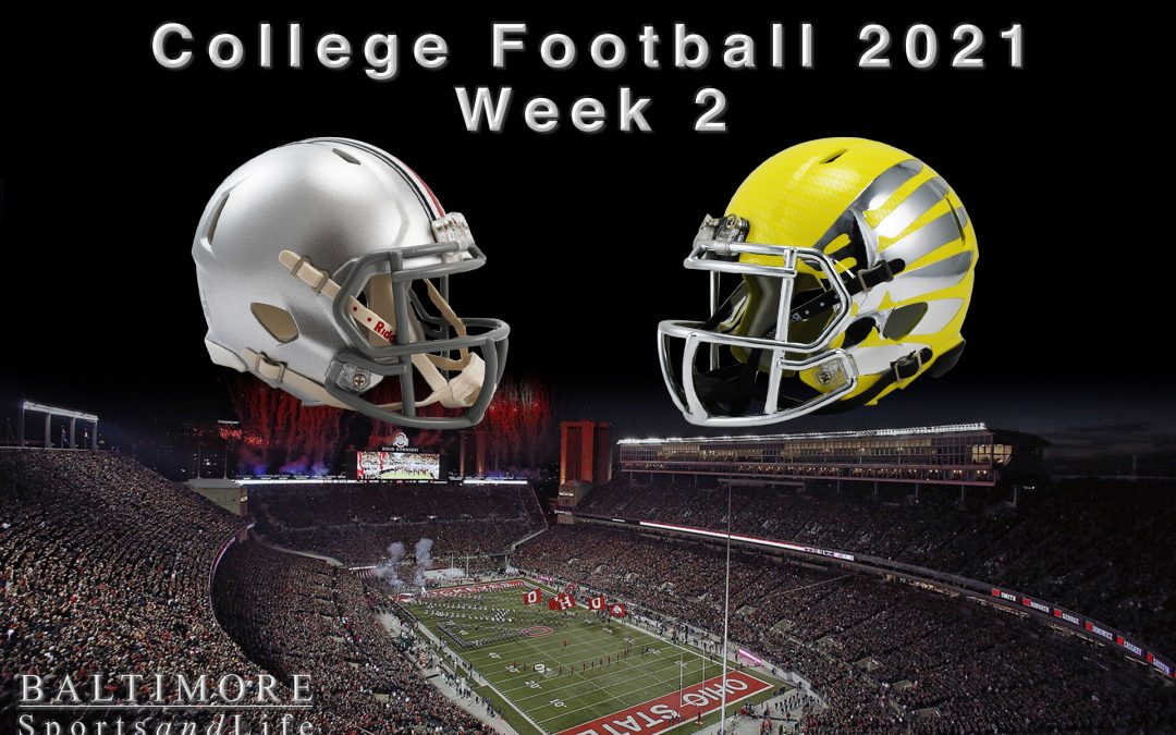 College Football 2021 – Week 2 Preview