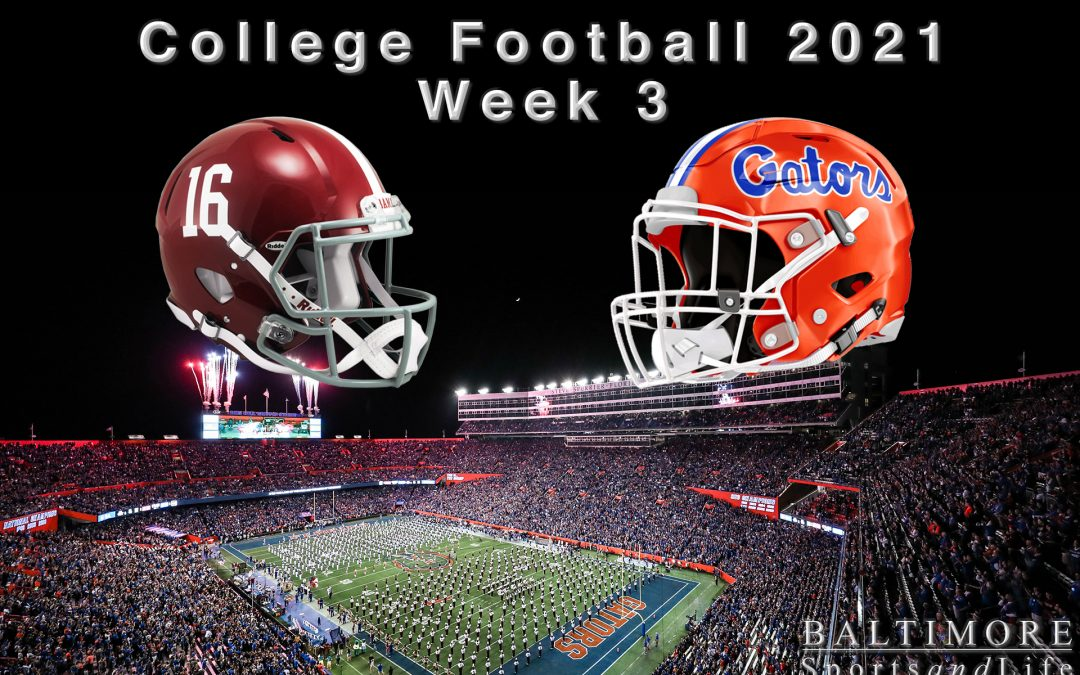 College Football 2021 – Week 3 Preview