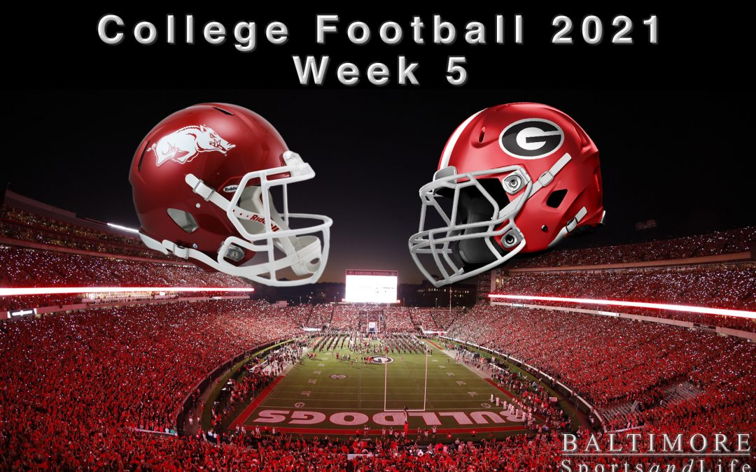 College Football 2021 – Week 5 Preview