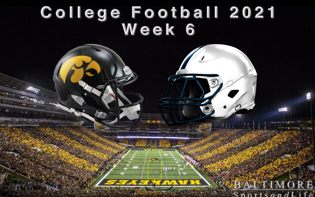 College Football 2021 – Week 6 Preview