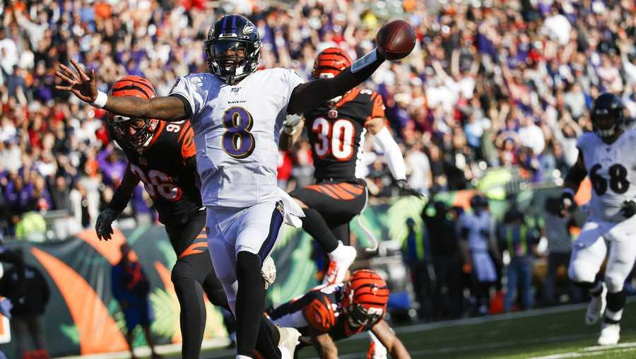 Next Game Up: Bengals at Ravens